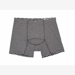 Men's boxer BAMBOU striped gray and ivory (5003)