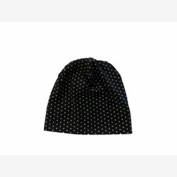 Hat Yo (longer) black white dots