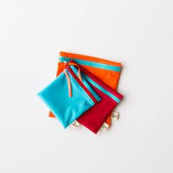 Reusable Snack & Sandwich Bags Trio