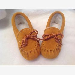 Authentik native moccassins or Slippers for Baby or child