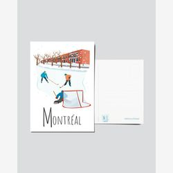 Quebec Postcard | Illustration Montréal | Quebec Region | Quebec Illustration