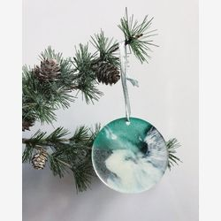Epoxy ocean ornaments