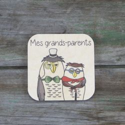 Mes grands-parents -  Tuile de routine quotidienne