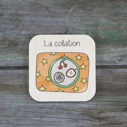 La collation - Tuile de routine quotidienne