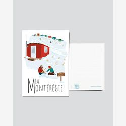 Quebec Postcard | Illustration Montérégie | Quebec Region | Quebec Illustration