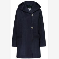 Eva - Straight wool and cashmere coat
