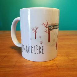 DEFAULT | Ceramic Mug | Mug | Quebec Mug | Illustration Lanaudière | Quebec Region | Illustration Québec