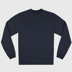 Lee L/S T-Shirt - Navy